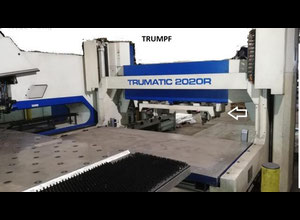 Trumpf TRUMATIC 2020R - FMC SheetMaster CNC punching machine