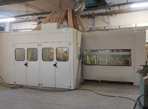 Second-hand linear copying shaper BACCI FC8CN 2500 Sanding machine for wood