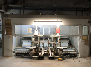 Bacci DOUBLE Wood CNC machining centre - 5 Axis