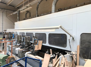 Bacci TWIN-JET Wood CNC machining centre - 5 Axis