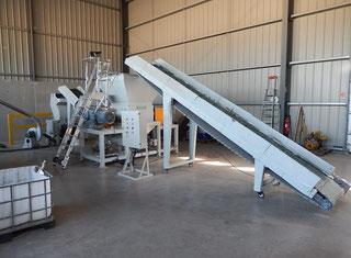 Grace-M Plastic granulating line P00124138