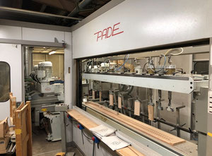 Pade 8T 2500 Wood milling machine