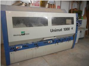 Weinig UNIMAT 1000 STAR Gebrauchte Mehrkopf-Kehlmaschine