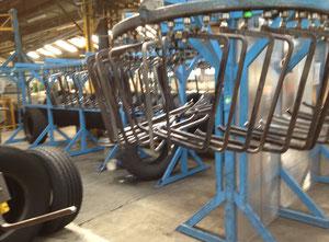 Monorail de préparation de pneus Matteuzzi