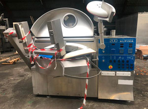Alpina PBV 200 Vegetable and fruit cutting, washing and blanching machine