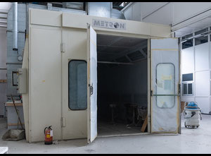 Used Saico Metron - Spray booth