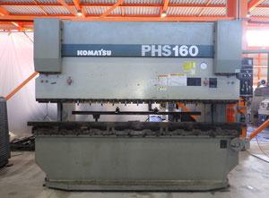 Prensa plegadora cnc/nc Komatsu PHS160 × 310
