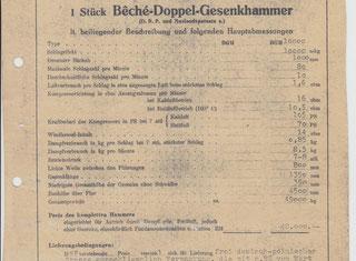 Beche Counter-Rotating Hammer - Dgh 10 000 Beche DGH 10 000 P00205037