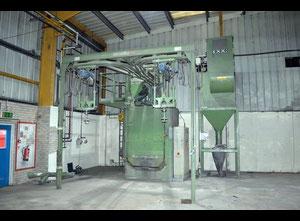 Tryskací stroj na kabinu Schlick 1600mm x 1200 mm