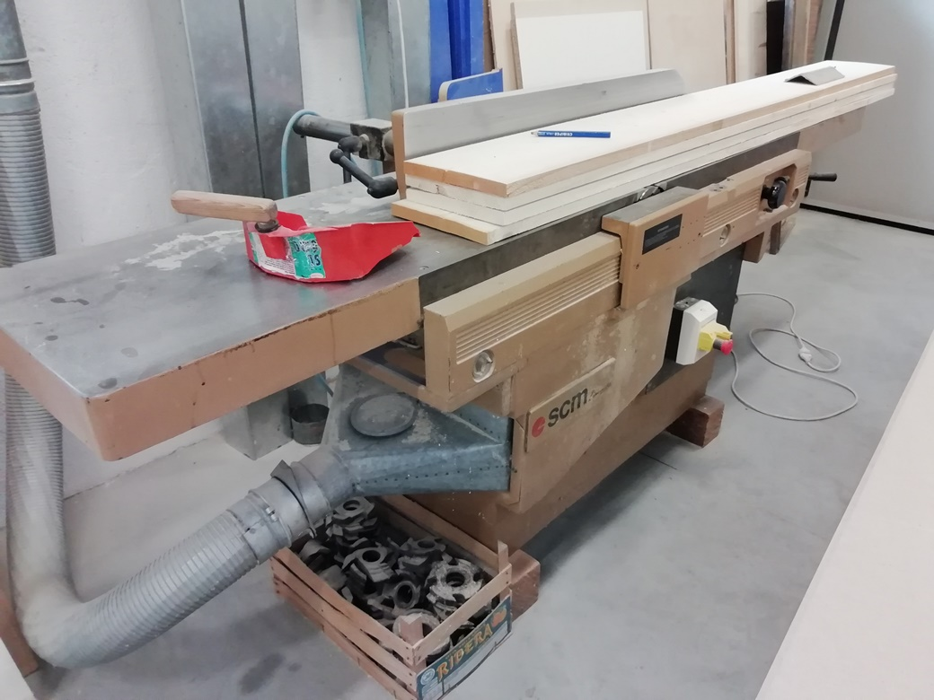 Used Scm F5l Woodworking Machine Exapro