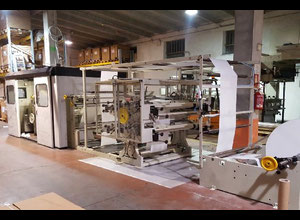 Used Manzoni Seriana 31 + 4 col. in line flexo Paper machine