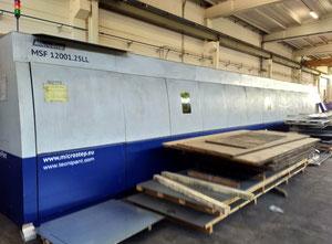 Impianto taglio laser usato Microstep Fibra 12000×3000 MM