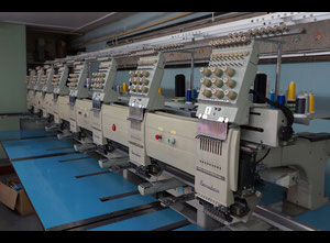 Barudan BENSME-ZN-A08U Embroidery machine