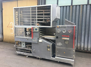 KÖNIG ECO 4000 Brot- oder Brötchen Komplette Produktionslinie