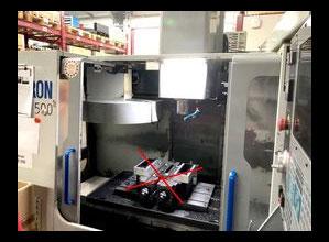 Centro di lavoro verticale MIKRON - HAAS VCE 500