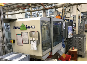 Krauss Maffei KM 80-220 C2 Spritzgießmaschine
