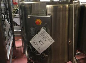 Contenedor - tanque de fusión Pierre Guerin 1050 litres inox agitée