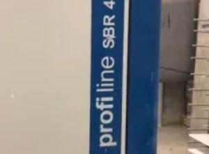 Ponceuse calibreuse large bande SCM Profiline S