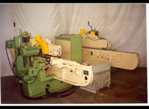 Shoda SI-136 6ft x 6 Spindle Double End Tenoner