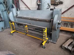 Plegadora manual RAS 68.38 - 2040 x 3,5