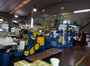 Holweg RS2-P / IV 75 Paper bag making machine with online printer