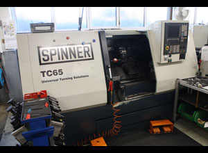 Spinner TC 65 MC cnc lathe