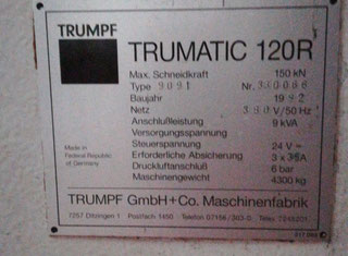 Trumpf Trumatic 120 Rotation P00224023