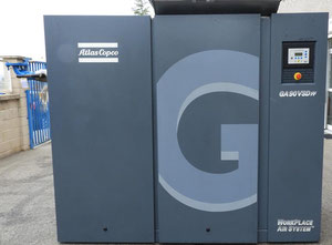 Atlas Copco GA90 VSD ff Compressor on wheels