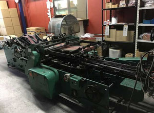 Futagami Iron Works ABM-NSP Carton converting machine