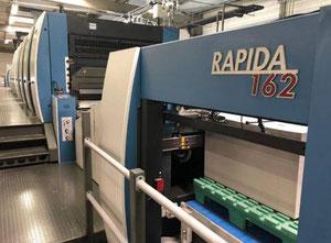 KBA RAPIDA 162a-6 Шестикрасочная офсетная машина