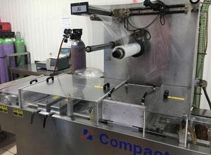 Tvarování termoplastů - Tvarující, plnící a  uzavírací linka CFS Compact M420