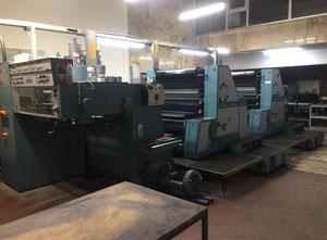 Man Roland Rekord 72 cm x 102 cm 4 Farben Offsetdruckmaschine