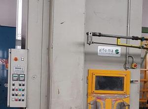 Alfema SVA 2500 Glass washing / coating and printing machine