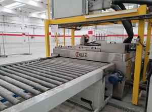Triulzi LAV- O 1600 Glass washing / coating and printing machine