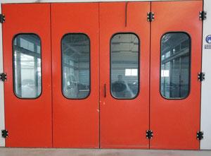 Cabine de peinture Termomeccanica GL TUNEL DE SECADO POR IRT