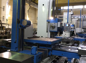 Gpm Titan International AFD 105 DRO Table type Horizontal Boring Machine with Tailstock