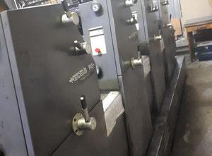 Ofsetový čtyřbarevný stroj Heidelberg GTO 52-4
