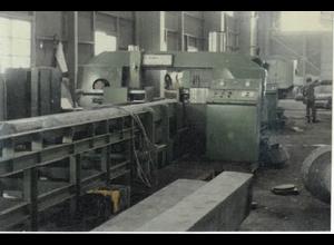 Sega a nastro per metallo usata wongong ind WBS-700S