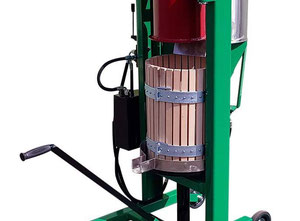 Hydraulic apple juice press 30 l + Crush