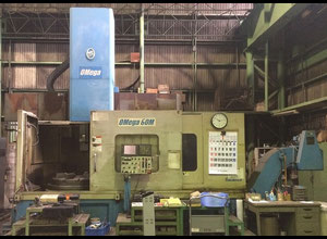 OM OMEGA60M Karusselldrehmaschine CNC