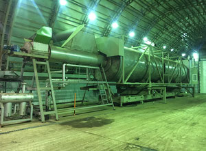 Biomass drying machine (for waste and other biomass) 10t/h