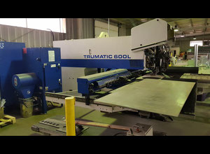 Trumpf tc 600L 1300 Combining machine laser / punch