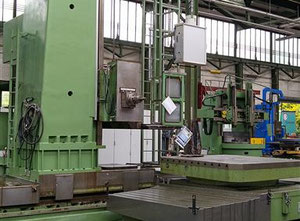 Alesatrice a montante mobile CNC Scharmann Heavycut 1.1 TDV 4
