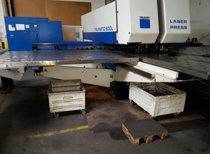 Used Trumpf Trumatic 600 L Combining machine laser / punch