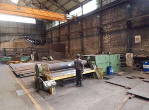 Haeusler 3100 x 40 mm Plate rolling machine - 4 rolls