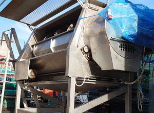 Machine de découpe, lavage et blanchiment de fruits et légumes Boema A80/8K