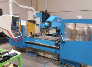 MTE KOMPAKT 1700 cnc bed type milling machine