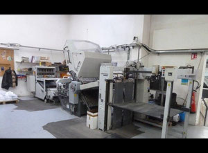Heidelberg Stahl KD 78/4KTL Falzmaschine