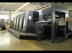 Heidelberg XL 75-4-C Offset four colours