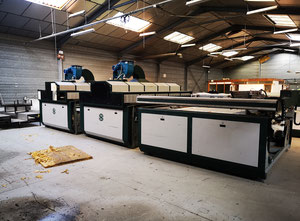 Siasprint Sias Multiformula line 1650x2150 Screen printing machine